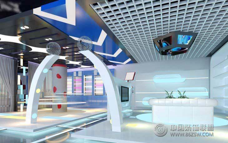 现代艺术展厅-展厅装修图片