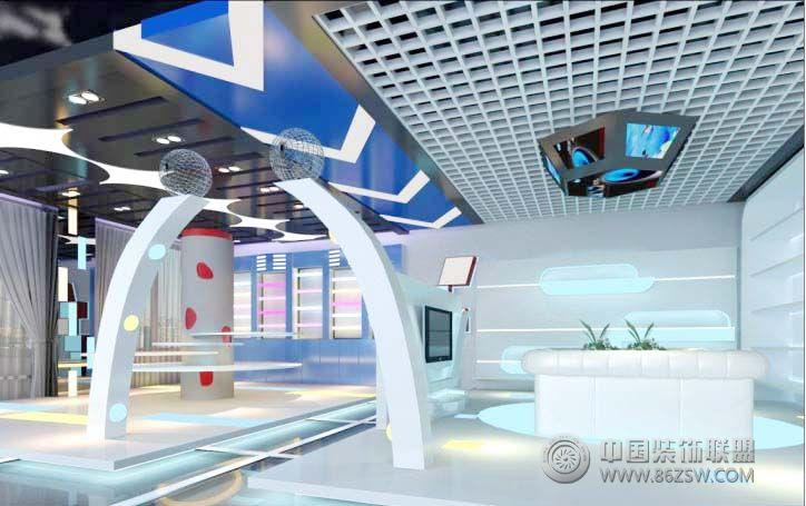 展厅装修设计 现代艺术展厅 单张展示 展厅装修效果图 宁
