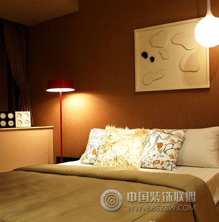145平米精致样板房简约卧室装修图片