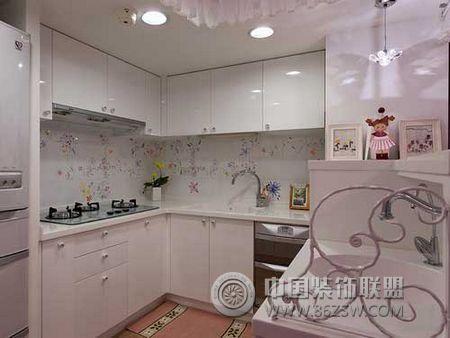 房歐式廚房裝修圖片