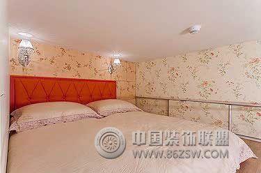 童话世界里的复式婚房欧式卧室装修图片