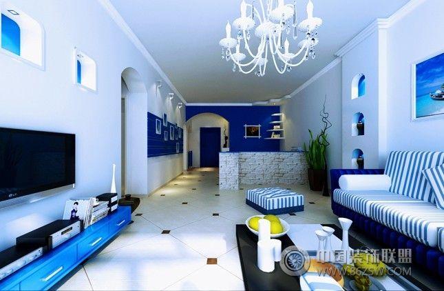 85后夫妻13万地中海之旅地中海客厅装修图片
