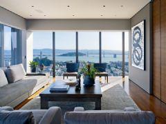 美国旧金山公寓室内设计赏析