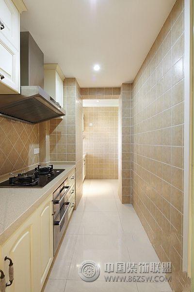 128平米混搭新居欧式厨房装修图片