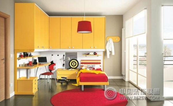 儿童卧室设计(二)_现代装修效果图_八六(中国)装饰(86