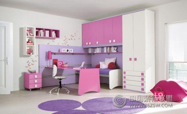 儿童卧室设计(三)-儿童房装修效果图-八六(中国)装饰