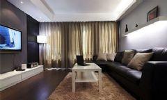 14W装105平米黑白搭配新居
