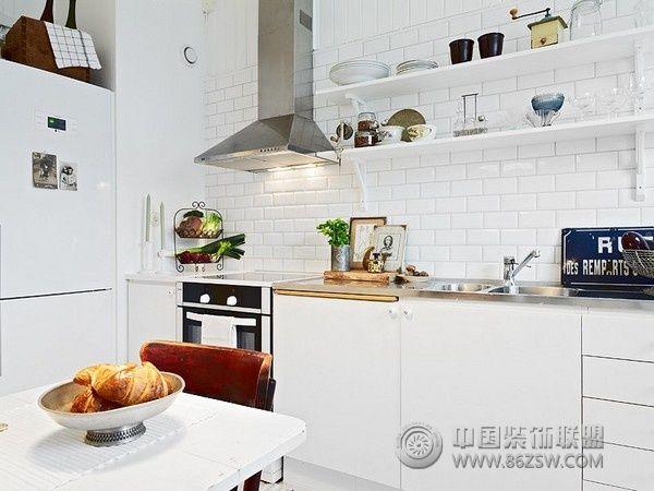 北欧风格单身公寓整套大图展示_欧式公寓装修效果图