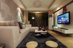 85平米两居新房完美装修