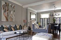 伦敦灰色调古典中性别墅