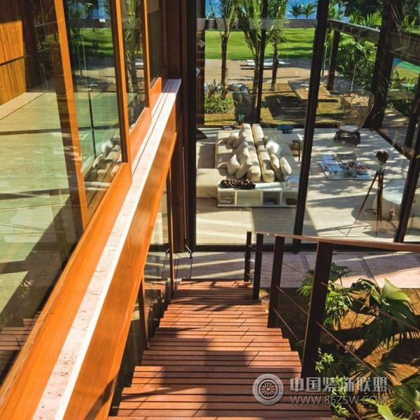 里约laranjeiras豪华度假别墅混搭阁楼装修图片