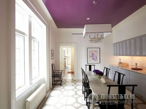 家居天花板创意设计(一)-餐厅装修效果图-八六(中国)