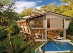 哥斯达黎加丛林木屋别墅设计