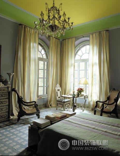 家居天花板创意设计 三 客厅装修效果图