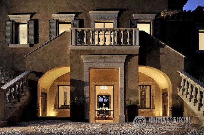 罗马拱形别墅设计欧式其它装修图片