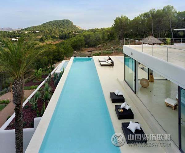 惊艳私家别墅泳池设计(二)