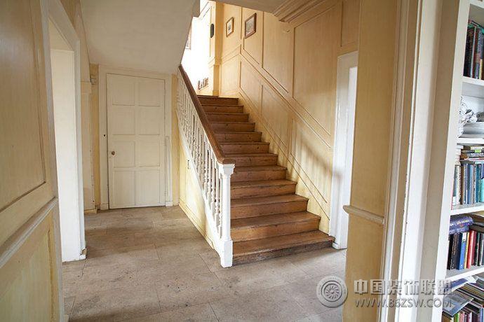 鄉村復古別墅設計-過道裝修效果圖-八六裝飾網裝修