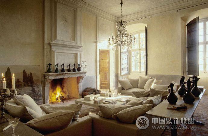 古老华丽城堡设计欧式客厅装修图片