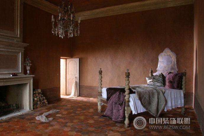 古老华丽城堡设计欧式卧室装修图片