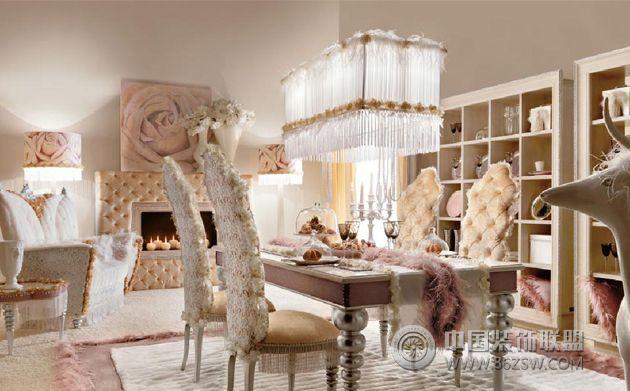 欧式皇宫的家居装修风格整套大图展示