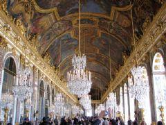 实景拍摄巴黎凡尔赛宫