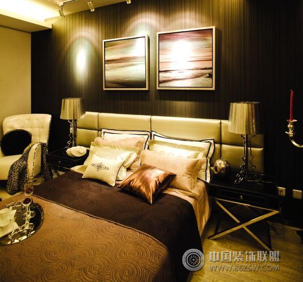 北京万科164平米豪华样板房欧式卧室装修图片