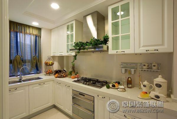 朵力品道 三居室 92平米 厨房装修设计 高清图片