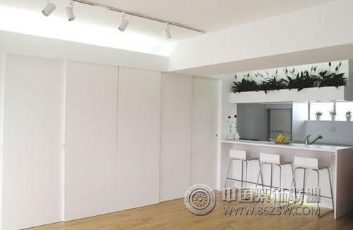 小型公寓室内设计欣赏-餐厅装修效果图-八六(中国)(.