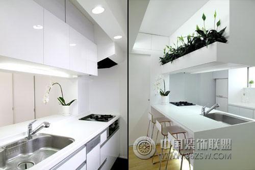 小型公寓室内设计欣赏-餐厅装修效果图-八六装饰网