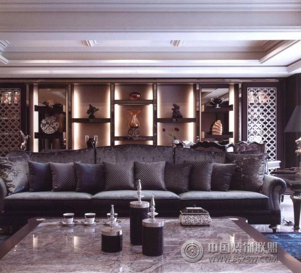 欧式客厅装修图片