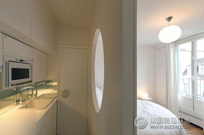 小阁楼变身时尚loft风格-卧室装修效果图-八六