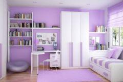 紫色温馨唯美家居设计