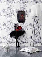 黑白古典装饰印象趣味
