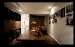 黑白色调奢华新古典式婚房古典书房装修图片