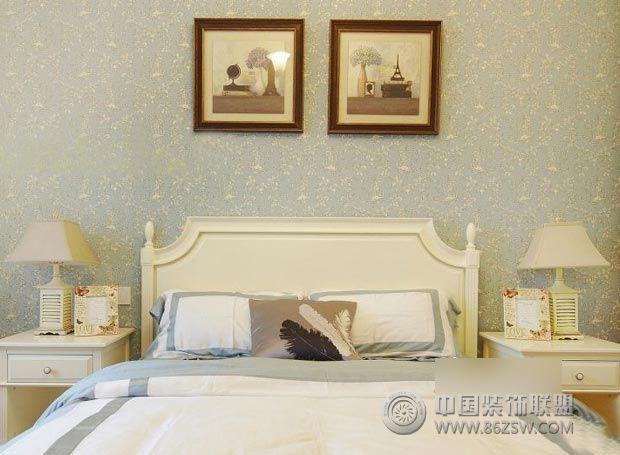 6万装90平米欧式田园风卧室装修图片
