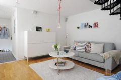 95平方米的清新明亮复式公寓