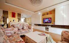 9.8万打造135平米时尚高雅家居