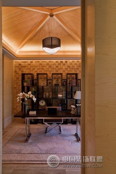 新中式范别墅样板房 餐厅装修图片