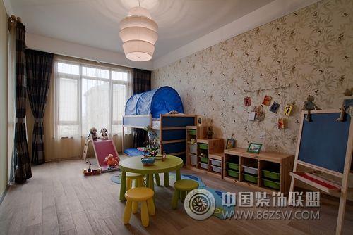 图片   > 新中式范别墅样板房 【单张】   儿童房装修效果