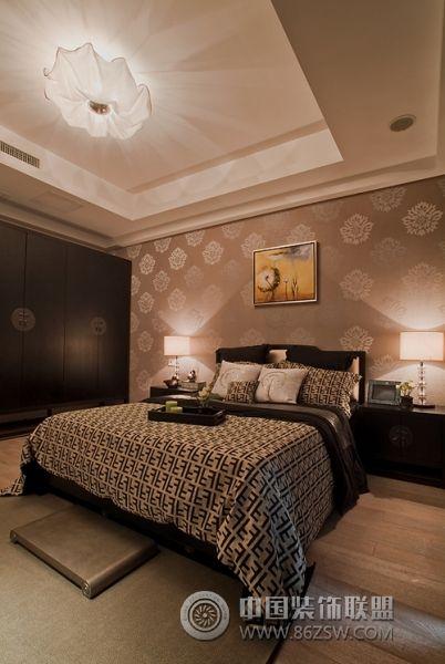 新中式范别墅样板房餐厅装修图片
