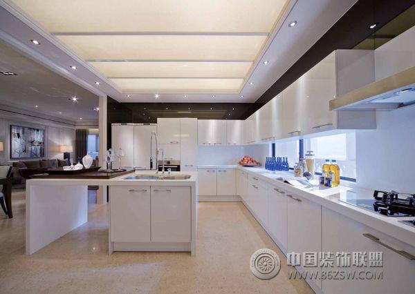 台湾145平米高品质样板房简约厨房装修图片
