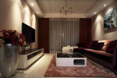 7萬裝95平米溫馨簡約三居室