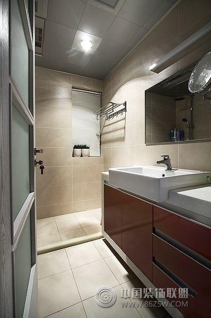 7万装95平米温馨简约三居室 书房装修效果图 -7万装95平米温馨简约三