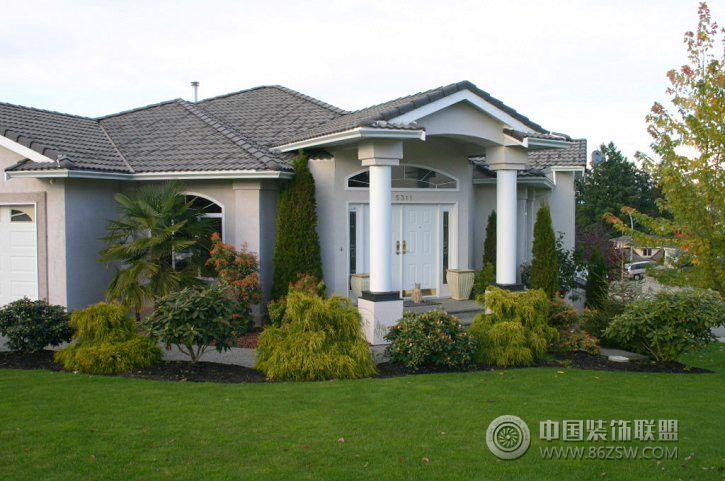 加拿大花園式別墅外觀-其它裝修效果圖-八六(中國)