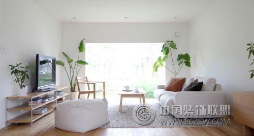 经典日式简约风格家居-客厅装修图片