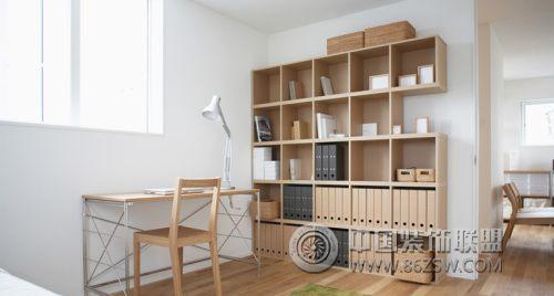 经典日式简约风格家居书房装修图片