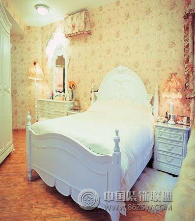 80后新娘晒浪漫宫殿婚房-卧室装修图片
