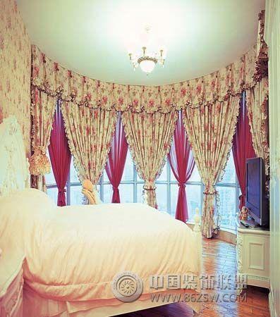 80后新娘晒浪漫宫殿婚房-卧室装修图片图片