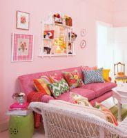 粉红居室里的万种风情