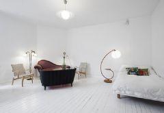 巴黎39平米纯白简约公寓